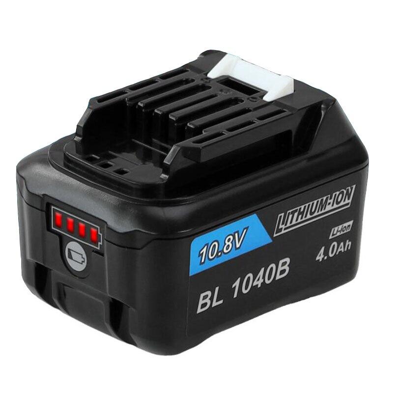 Batería de iones de litio dawupine de 12V y 4000mAh para taladro eléctrico MAKITA 10,8 V 12V 4Ah 197402 BL1015B BL1020B BL1040B