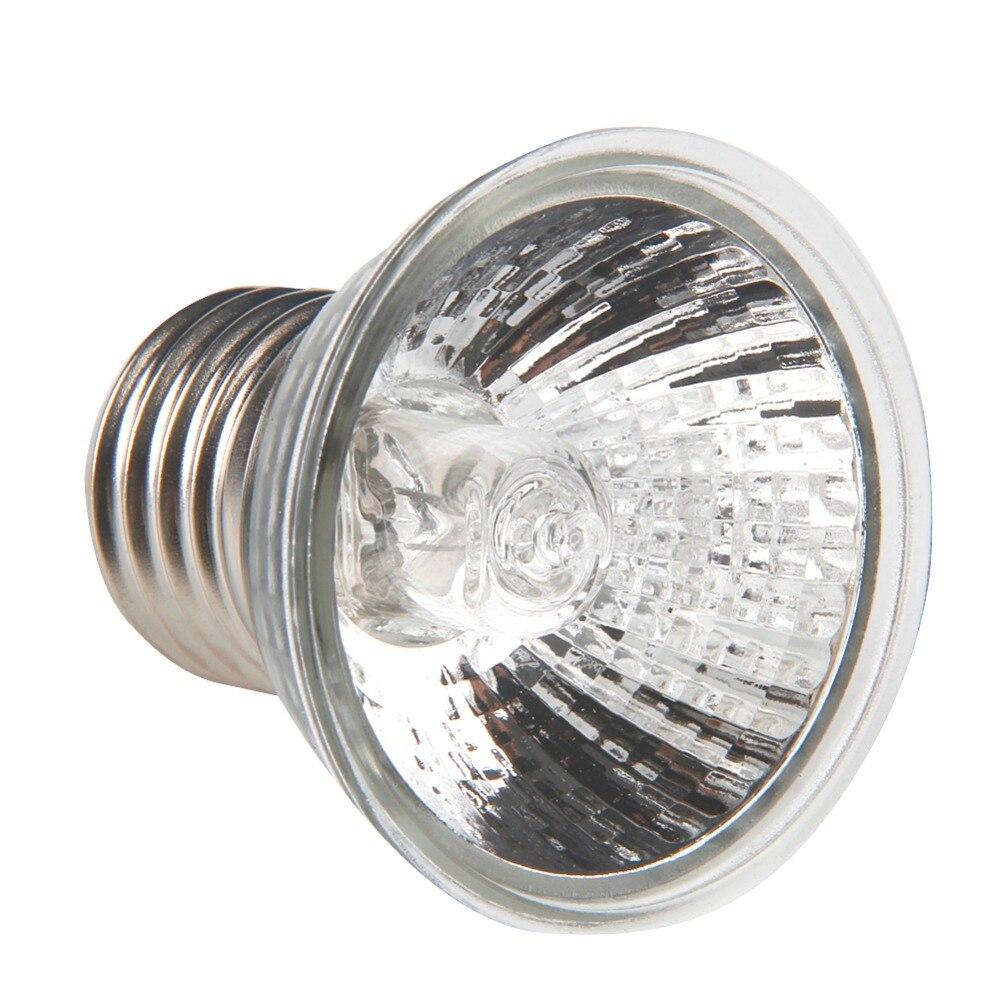 Nueva Uva Uvb lámpara de calefacción para reptiles y tortugas espectro sol disfrutando de mascotas de baja intensidad 25W/50W