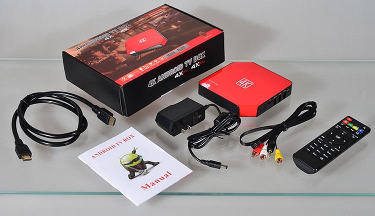 4K android smart TV box (KT-611, exclusive design, RK 3229, quad core cortex A7,1GB DDR3, 8GB nand flash, BT, Remote control,