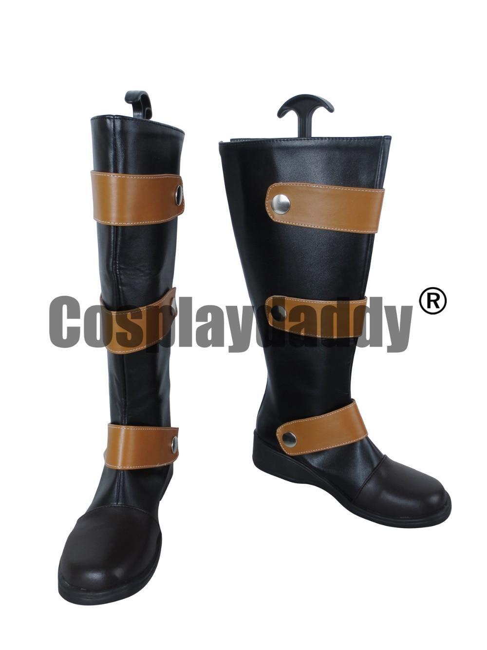 Tsubasa réservoir chronique Li Syaoran chaussures longues Cosplay bottes C006