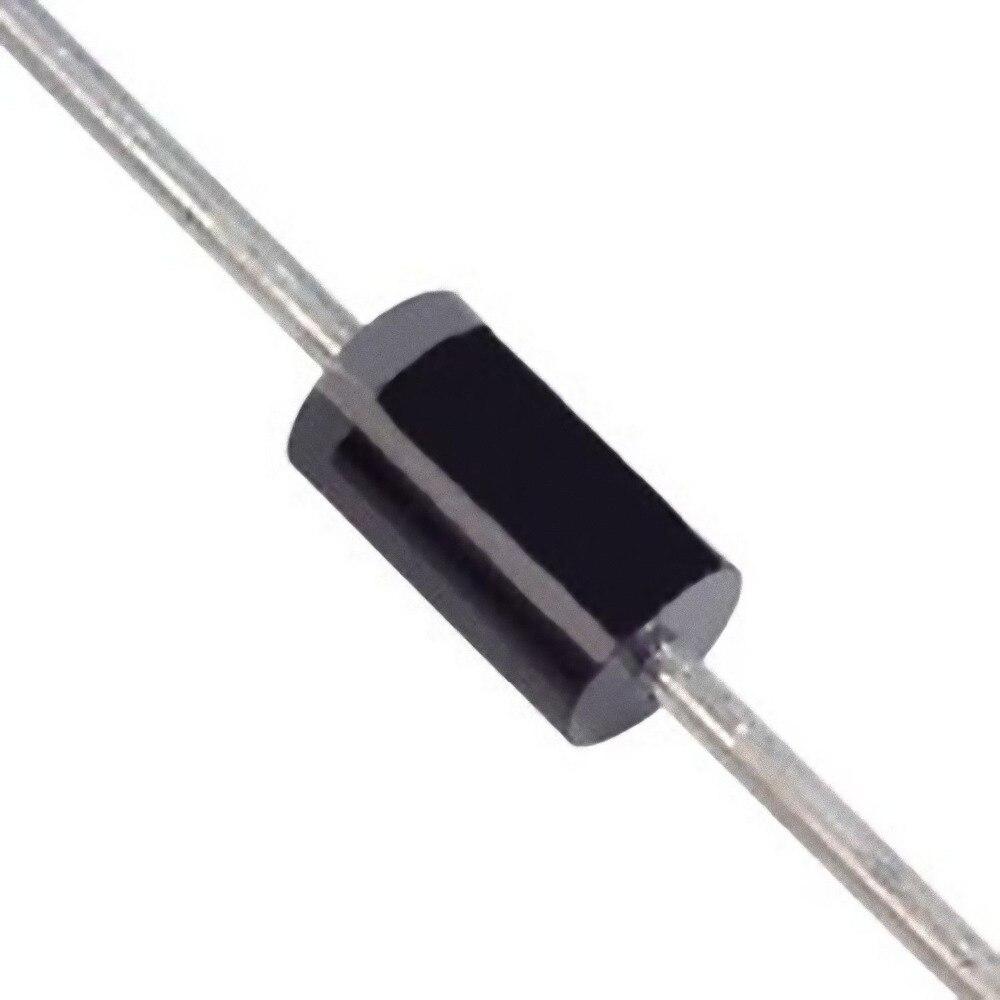 50 stücke 1N4001 100V 1A TUN-41 Axial Blei Silicon Rectifier Dioden