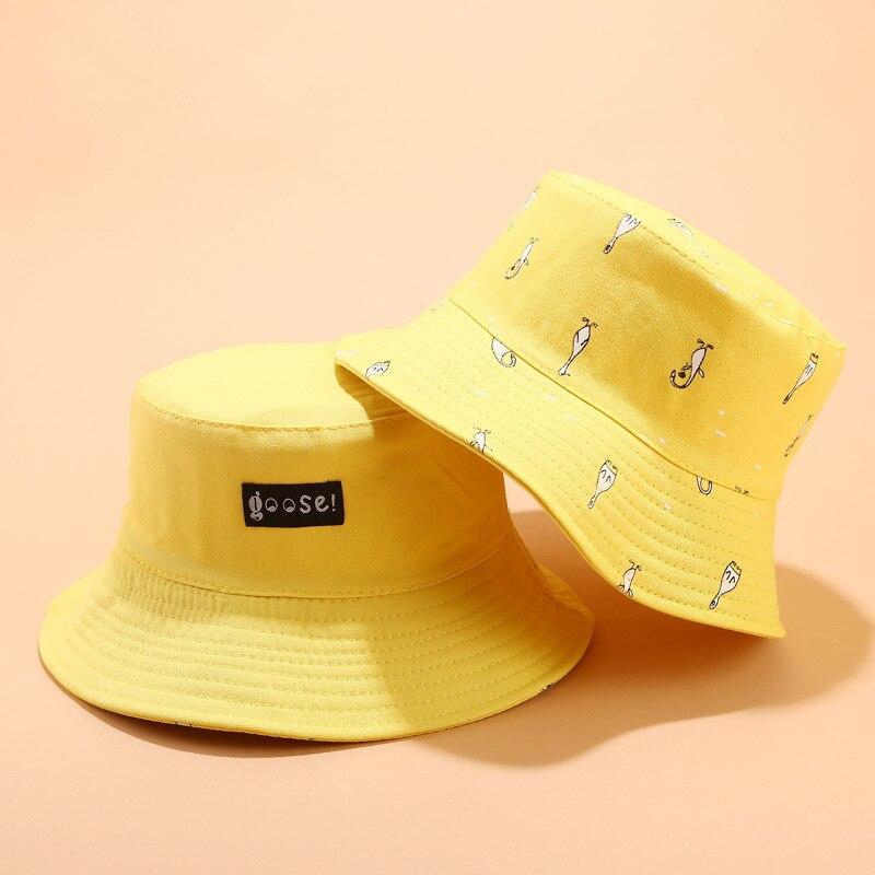 2019 baumwolle Druck doppelseitige tragen Eimer Hut Fischer Hut im freien reise hut Sonne Kappe Hüte für Männer und Frauen 39
