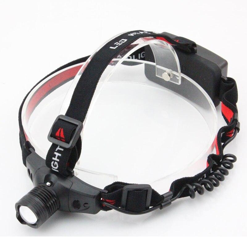Linterna frontal Led Xm-L Q5 linterna para Cabeza lámpara recargable para Camping linterna de pesca Cabeza