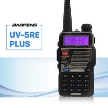 BaoFeng UV-5RE Plus talkie-walkie CB VHF UHF Portable jambon Amateur Radio bidirectionnelle 5 W double bande pour chasse camionneur