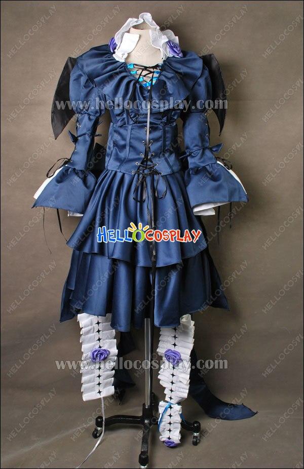 Пандора сердца Косплей Элис окровавленный черный кролик костюм H008