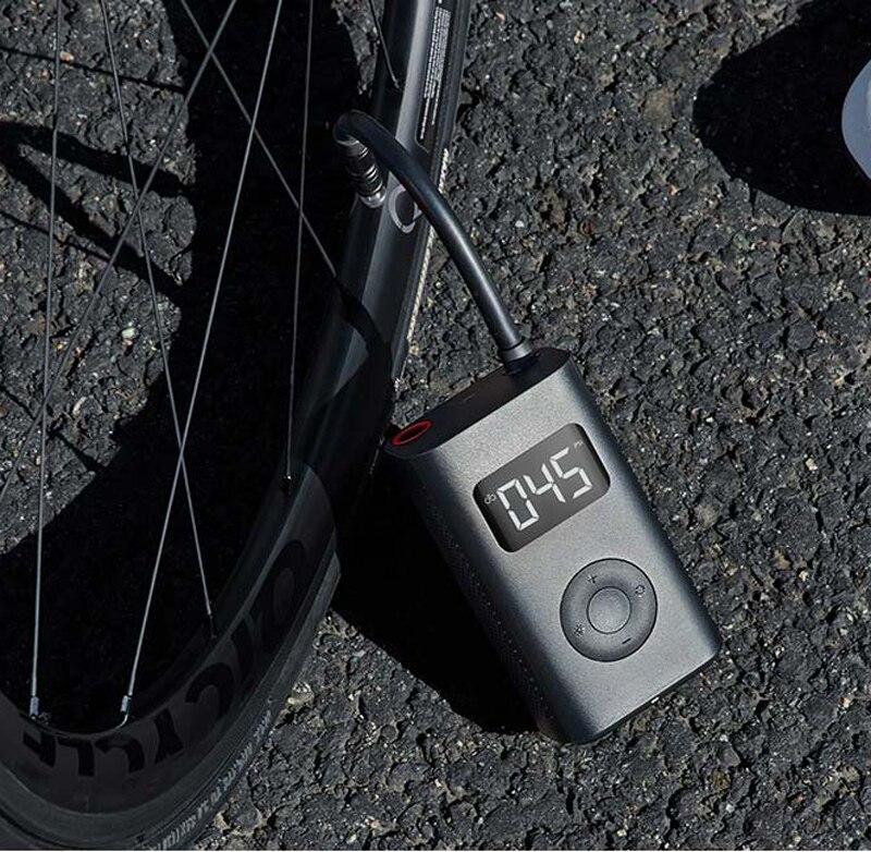Inflador eléctrico con detección de presión de neumáticos Digital inteligente portátil Xiaomi Mijia en Stock para bicicleta motocicleta coche fútbol