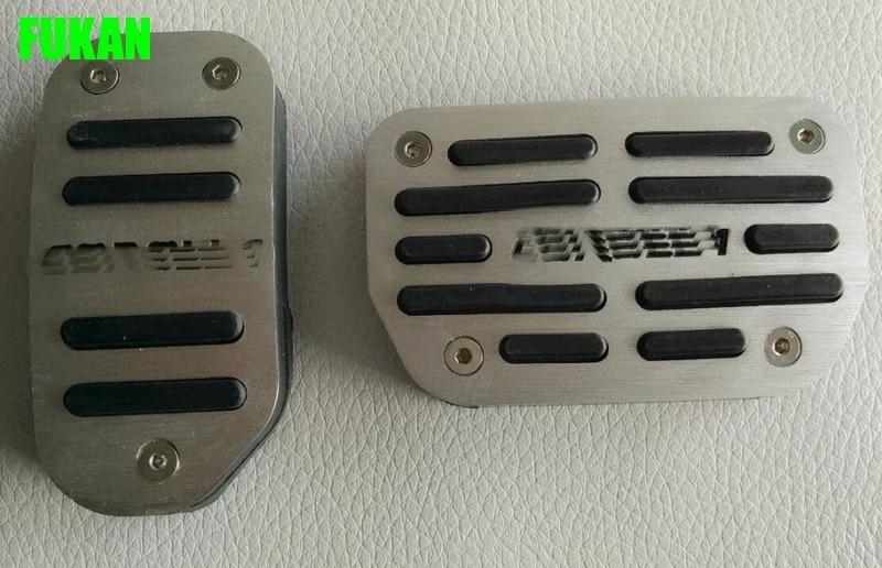 Auto accelerator pedal,car brake pedal for Toyota corolla 2015 2016, 2pcs/lot,auto accessories