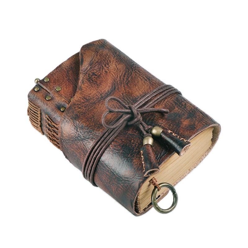 100% Genuine Leather Handmade A4 A5 A6 Vintage Retro Travel Journal Diary Notebook Notepad Birthday Valentine's Day Gift BJB26