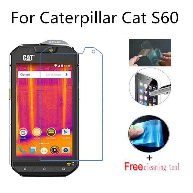 2 uds Ultra-delgada de Nano-de membrana a prueba de protector de pantalla no de vidrio para Caterpillar Cat S60 S50 S50c S40 S30 smartphone