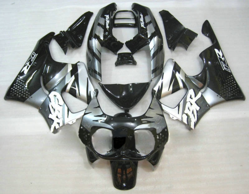 L36-Complete Fairings ل CBR900RR 893 94 95 1994 1995 ABS البلاستيك للدراجات النارية الهدايا المجمعة الجسم أطقم رعاة البقر رمادي أسود