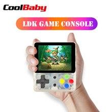 CoolBaby LDK console de jeu vidéo Mini rétro joueurs de jeu portables OPEN SOURCE Console portable HD rétro Mini consola boy tetris