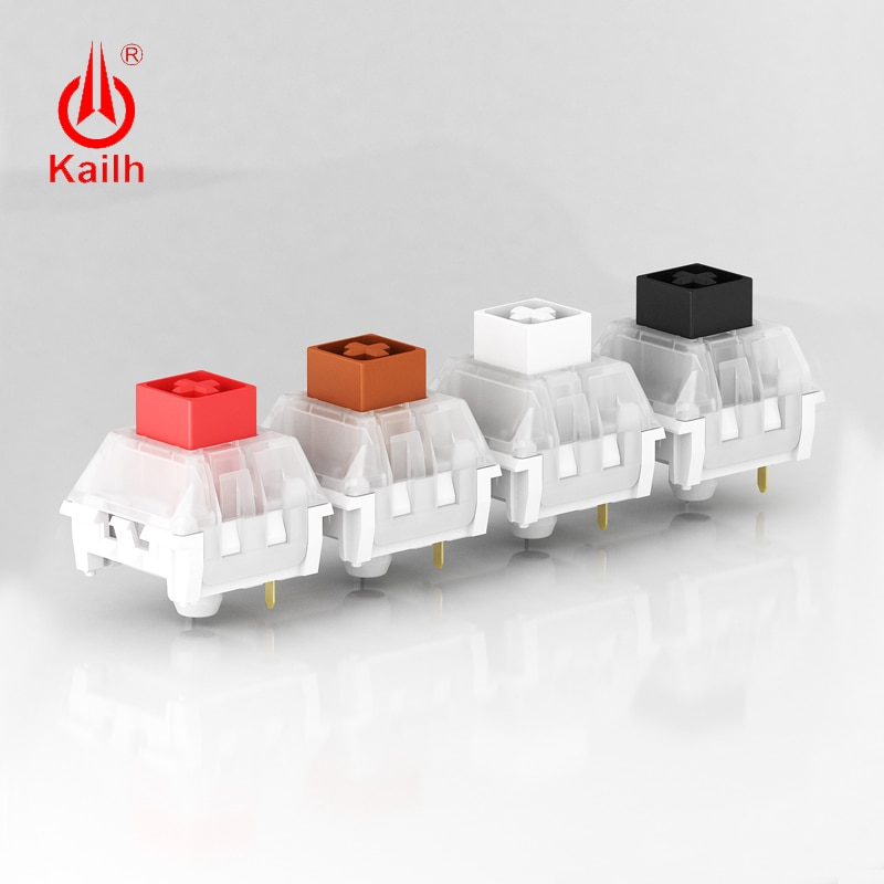 AliExpress - kailh box Switch Mechanical Keyboard  diy RGB/SMD Black Red Brown White switch Dustproof IP56 waterproof Compatible Cherry MX