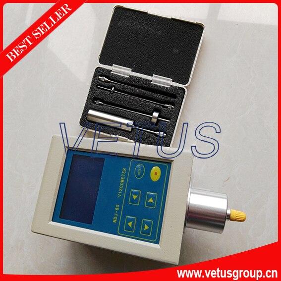 NDJ-8S 1 ~ 2x1000000 mPa viscosímetro probador con 1-4 rotor