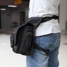 Mannen Leger Taille Borst Zak Multifunctionele Drop Been Tas Panel Utility Taille Riem Pouch Fanny Pack Belt Hip Bum Zakken been Pack