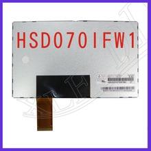 ZhiYuSun   HSD070IFW1-A00 HSD070IFW1  for GPS CAR DVD 7 pollici schermo lcd 40 pin 1024*600 thickness 5MM