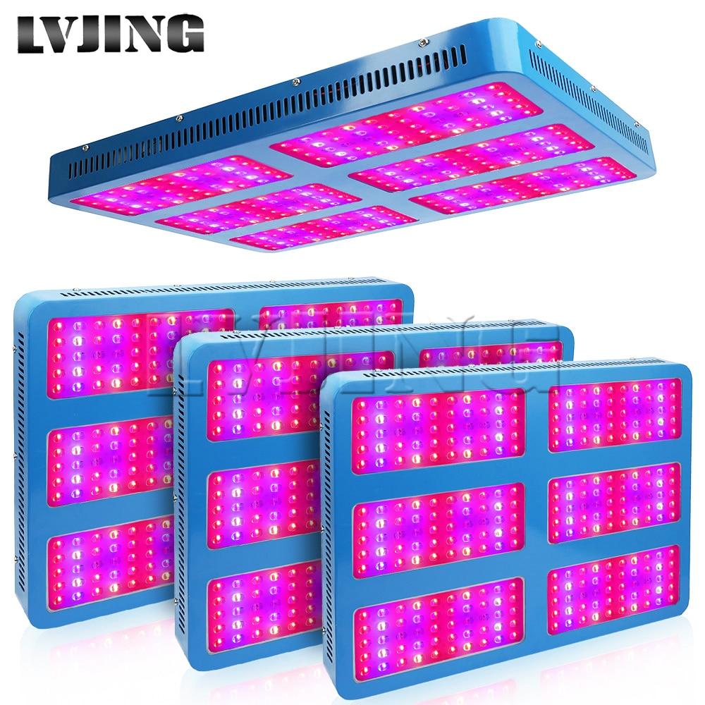 4PCS 3000W Full Spectrum LED Grow Light Hydroponics Lamp for Greenhouse Medical Plants Indoor Vegs lettuce Strawberry Lights