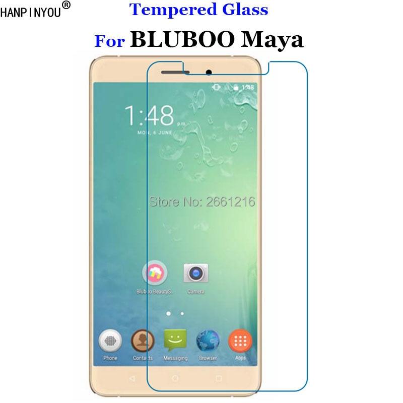 "Para BLUBOO Maya vidrio templado 9 H 2.5D película protectora de pantalla Premium para BLUBOO Maya 5,5"""