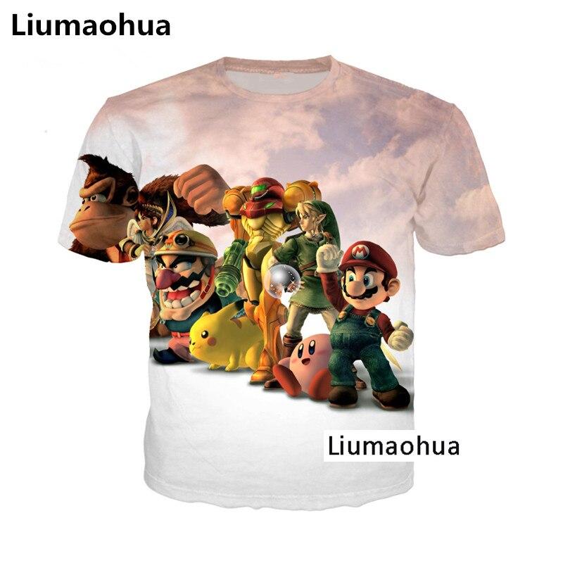Liu Maohua Hip Hop Anime Konosuba Kawaii 3D Unisex. Megumin Cosplay moda camiseta Top