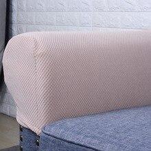 تمتد أريكة قماش كرسي مسند ذراع يغطي البقع مقاومة منع الخدوش حامي أثاث الأريكة أغطية