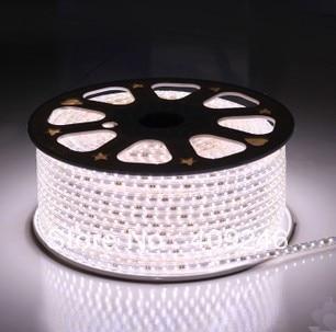 DHLFedEX Alta Tensión 3528 LED tira cinta luz 220 V 240 V cálido/blanco luz led lámpara chip 3528 + 5 piezas de