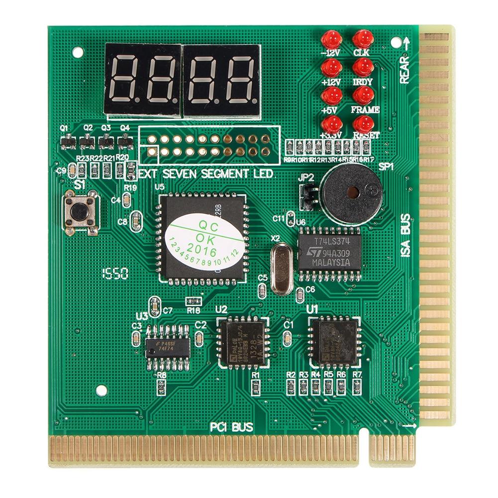 Caliente-diagnóstico PCI 4 dígitos tarjeta PC placa base Post Checker Tester analizador portátil