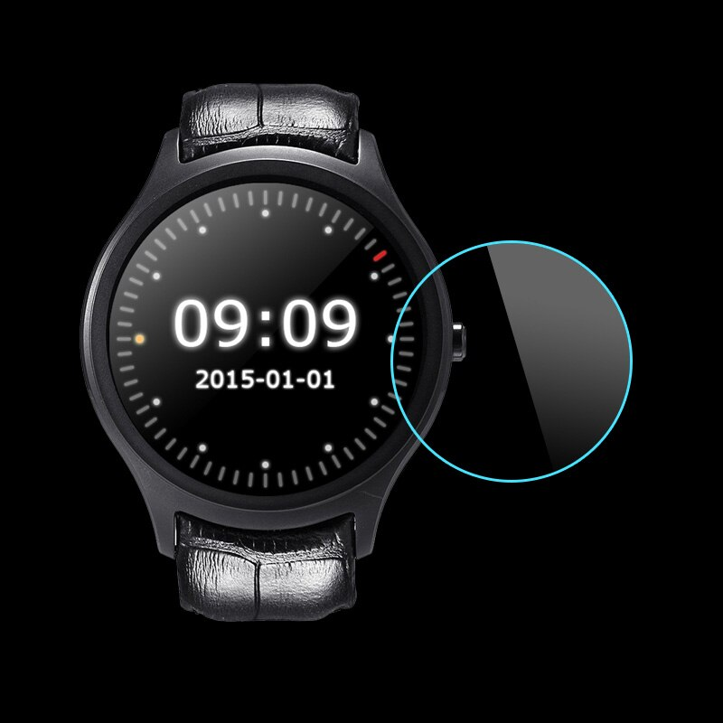 Закаленное стекло для смарт-часов NO.1 D5, 3 шт., защитная пленка 1,3 дюйма, подходит для смарт-часов Finow X1