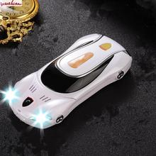 Keine Kamera Entsperrt Mobile Handy F1 Gerade Spielzeug Auto Handy kinder Cartoon Charakter Mini Modell Mit Lichter Metall körper