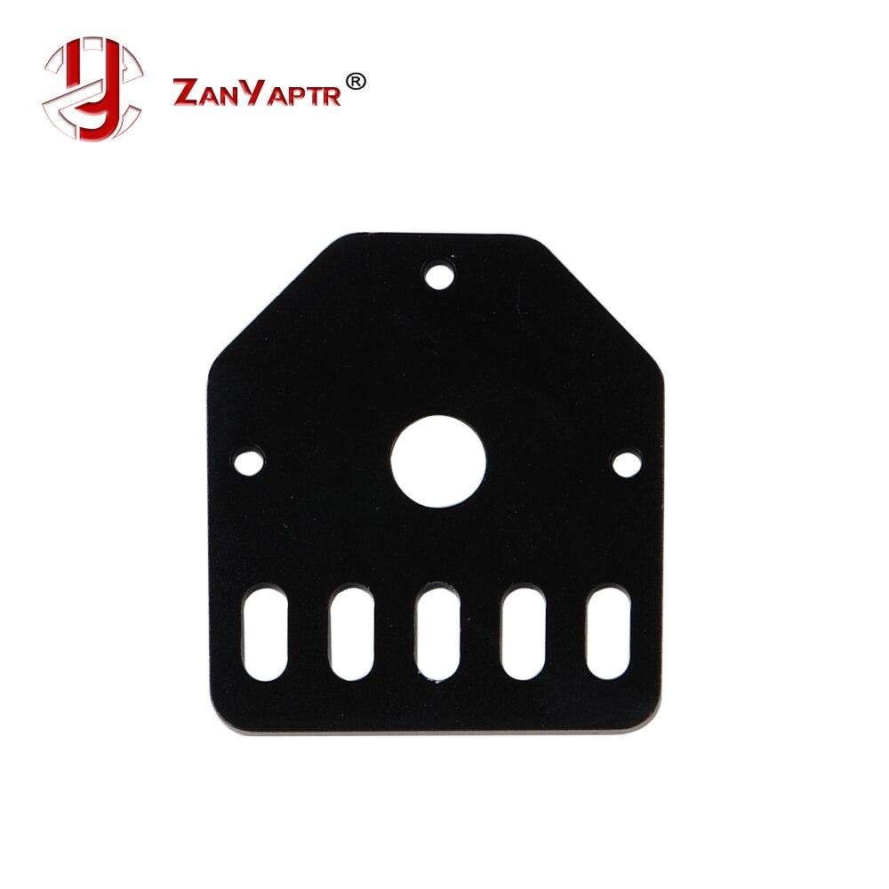 3D printer parts OPenbuilds threaded rod plate NEMA 17 fixed aluminum bracket