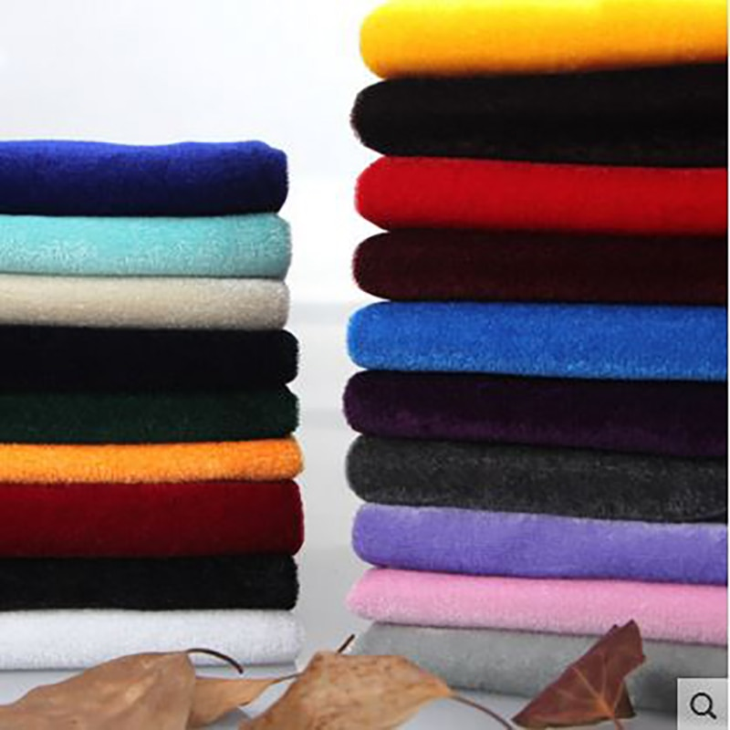 Велюровая эластичная ткань для платья, шторы, скатерть, коврик для стула, ткань в стиле пэчворк, высокое качество