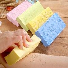 Verkauf 1PC 3 arten Weichen Körper Reinigung Bath Spa Schwamm Wäscher Erwachsene Bad Schwamm Reinigung Dusche Peeling Bad Ball