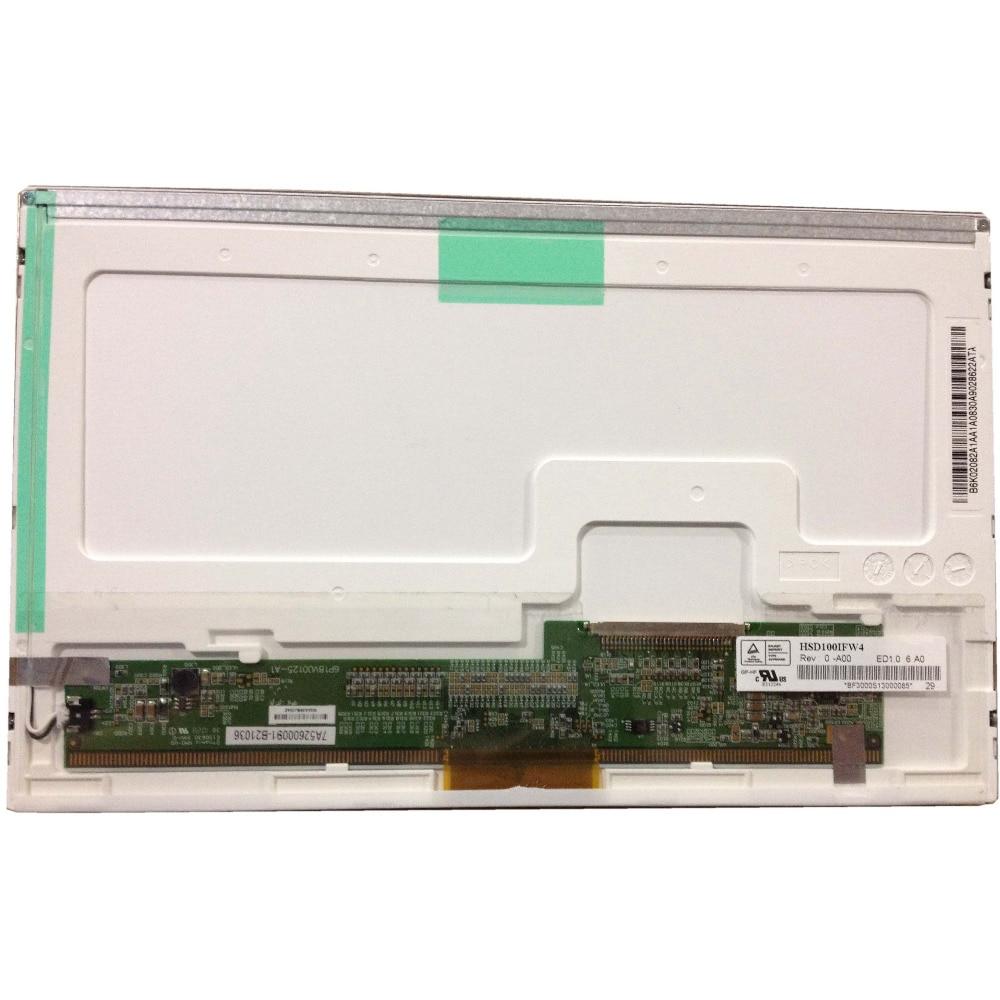لوحة شاشة LCD LED ، 30 دبوس ، HSD100IFW4 A00 HSD100IFW1 ، لـ Asus Eee PC 1011CX