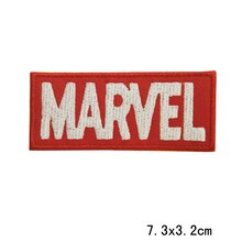 2019 nuovo 10 pcs Ricamato Sew Ferro Patch LOGO EMBLEMA del fumetto MARVEL SUPERHERO HERO COMICS CAP
