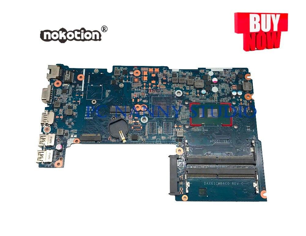 PCNANNY DAX61CMB6C0 ل HP Probook 440 446 G3 اللوحة المحمول i5-6200U اختبار