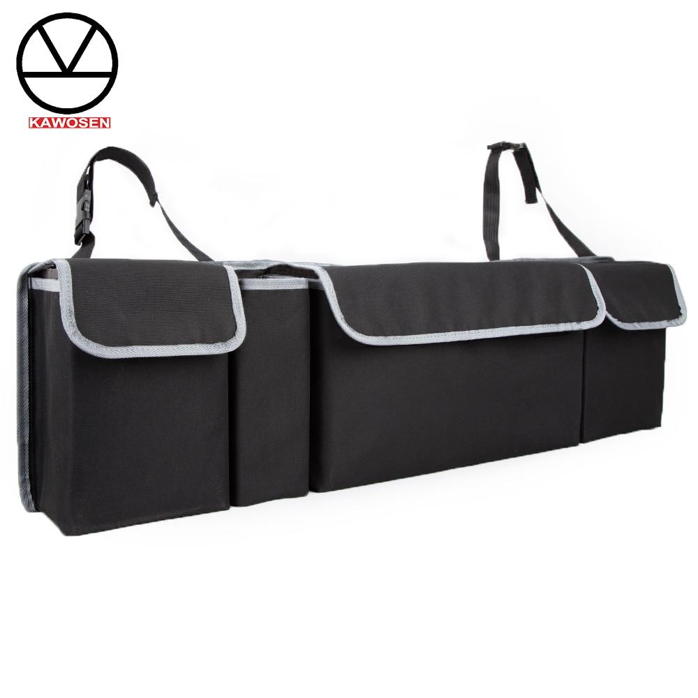 Car Trunk Organizer Adjustable Backseat Storage Bag High Capacity Multi-use Oxford Automobile Seat Back Organizers CTOB02