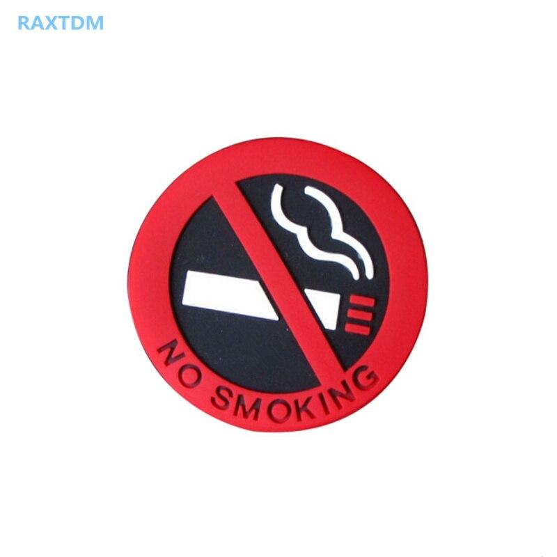 1 Uds coche-estilo de logotipo de No fumar para Lada Priora sedán deporte Kalina Granta Vesta X-Ray de rayos X