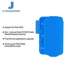 JC Pro1000S NAND programmeur SN lire outil décriture outil de réparation sans retrait pour iPad 4 5 6