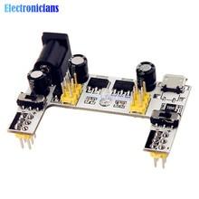 MB102 DC 7-12V Micro Usb-schnittstelle Breadboard Netzteil Modul MB-102 Modul 2 Kanal Board Für Arduino