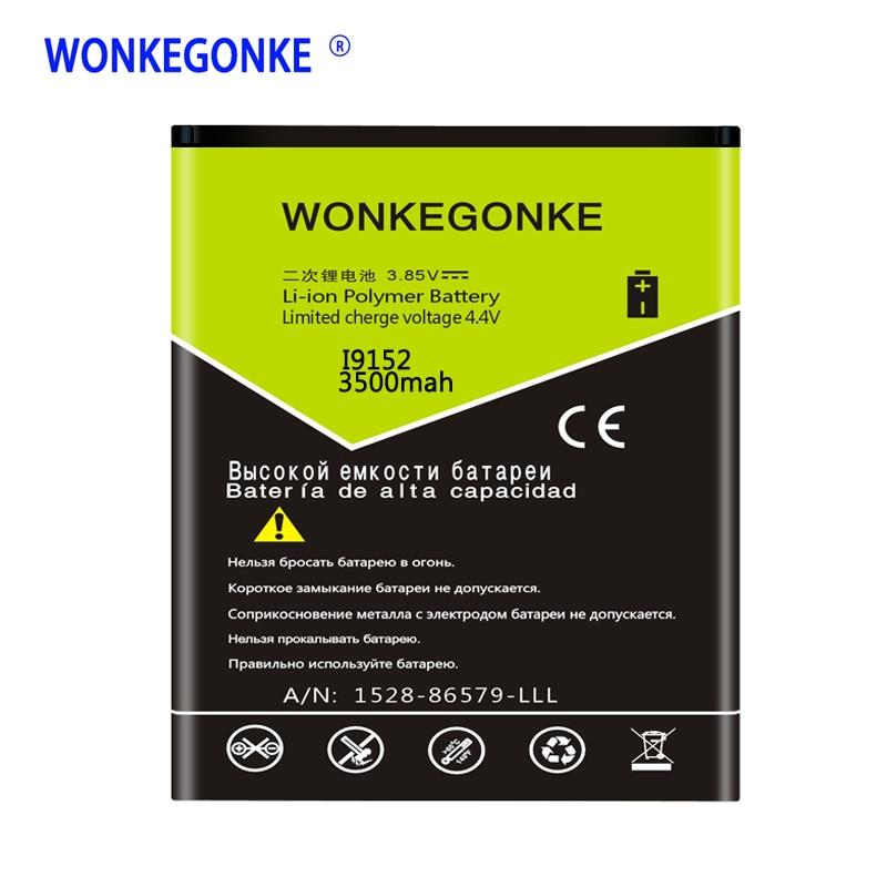 WONKEGONKE B650AC/B650AE Bateria para Samsung Galaxy Mega 5.8/i9150 i9152 i9158 i9159 P709 G3858 i9152P i9158V