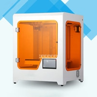 H2 Desktop 3D Printer Large Size Three-Dimensional Printer USB Port High Precision Household 3D Printer Glass Platform 350W