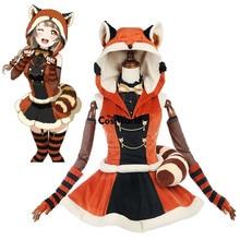 Amour direct école idole projet Kotori Minami Animal robe à capuche tenue Anime Cosplay Costumes