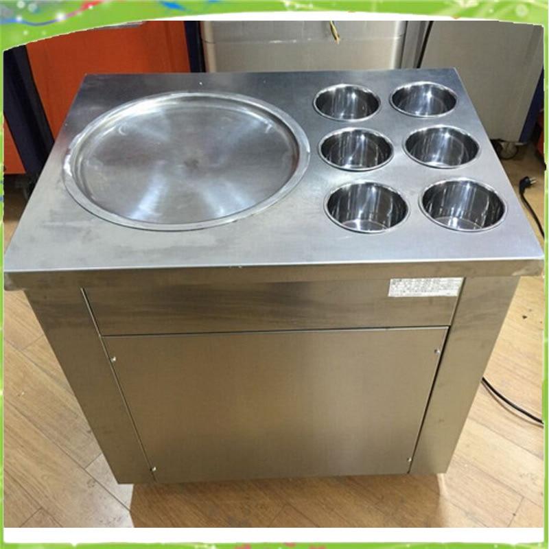 Machine à glace frite bon marché machine à crème glacée frite machine à jus de lait au yaourt