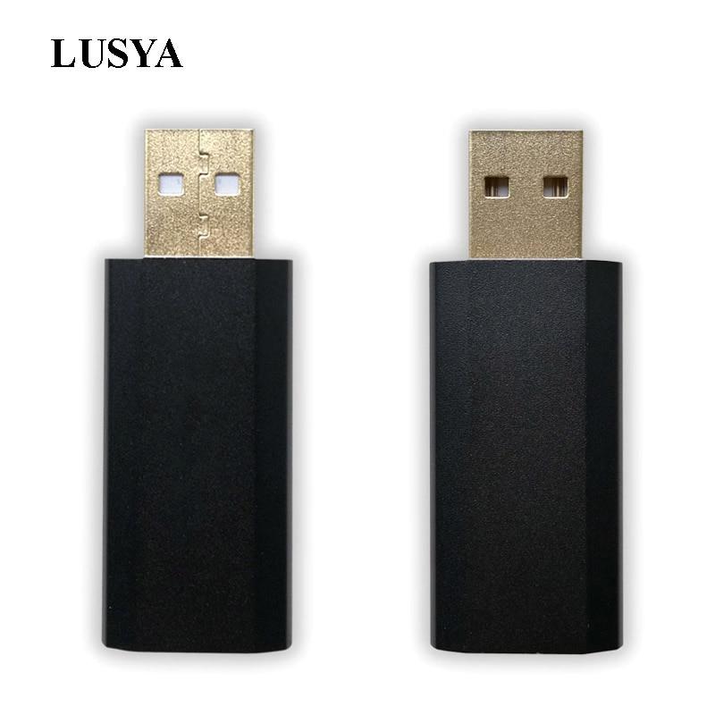 Lusya ES9018K2M USB портативный DAC HIFI USB внешняя аудио карта декодер SA9123 32 бит 192 кГц для Amp T0015