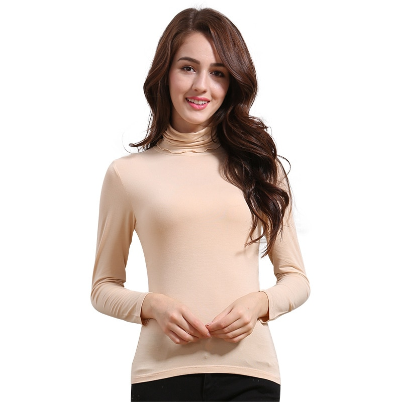 Women's warm coat  autumn and winter comfortable breathable slim stretch shirt long-sleeved underwear thermal underwear enlarge