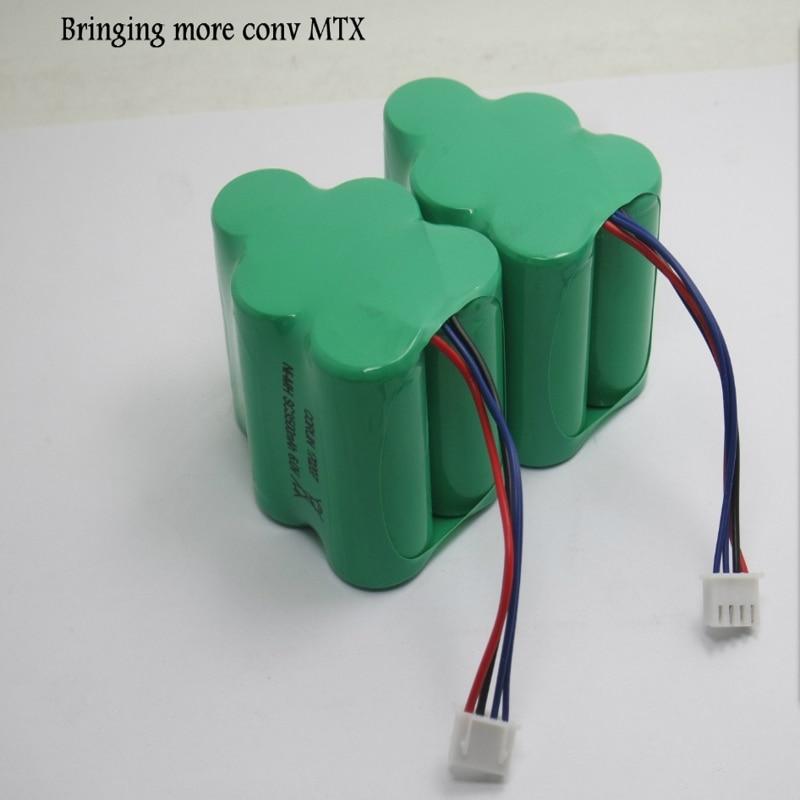 2 قطعة 3.5Ah 6V 3500mAh استبدال البطارية ل Ecovacs Deebot D73 D76 D62 D63 D63S D65 D66 D68 D77 D79 730 760 TBD71