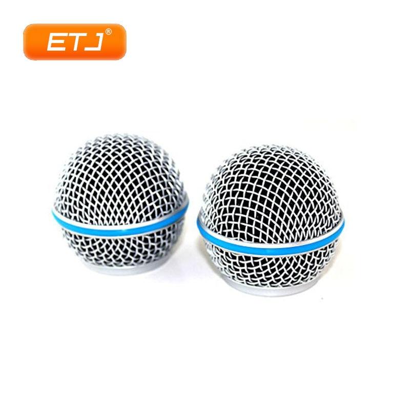 Rejilla de malla para micrófono Beta58 SM 58, accesorio de repuesto para...