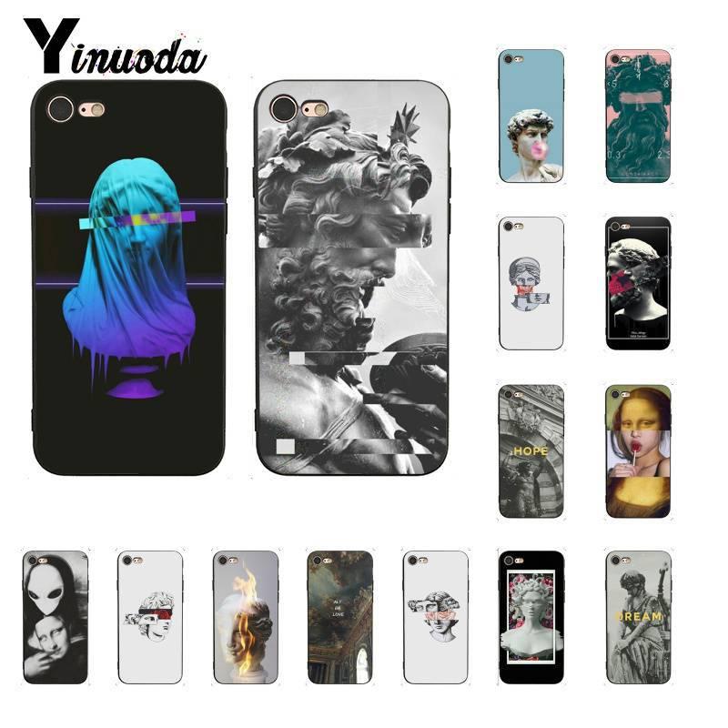 Yinuoda Neueste special edition kunst David skulptur Telefon Fall für iPhone 8 7 6 6S 6Plus X XS MAX 5 5S SE XR 10 11 11pro 11promax