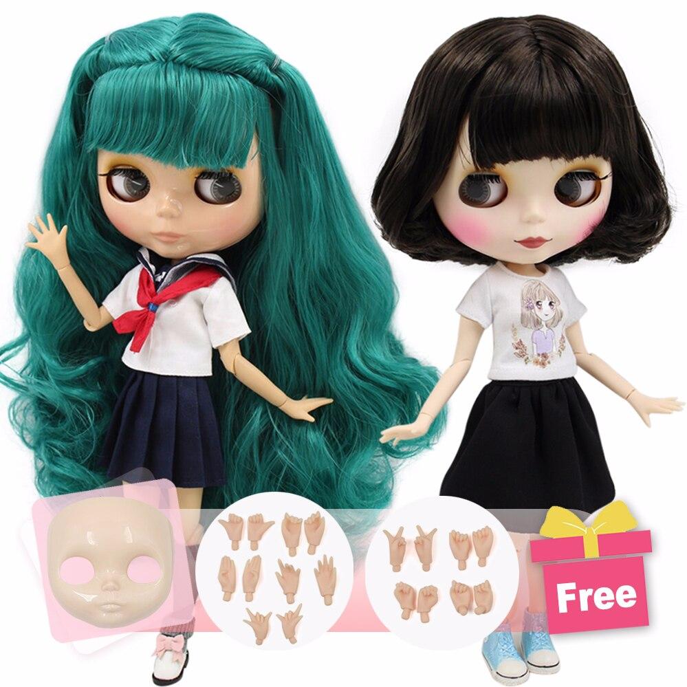 Ледяная Обнаженная фабрика Blyth кукла Экстра лицо и руки в подарок подходит для одевания самостоятельно Сделай Сам Изменение BJD игрушка Специальная цена