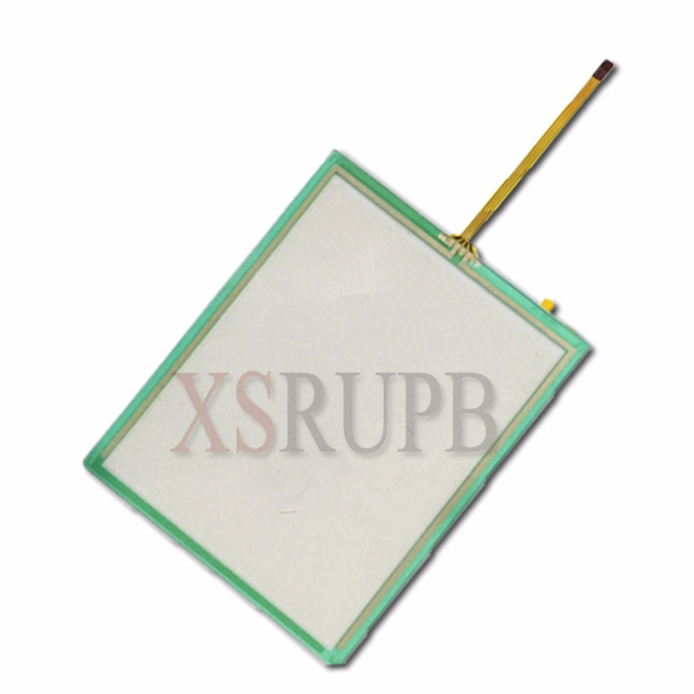 Panel digitalizador de pantalla táctil industrial resistente de 4 cables de 5 unids/lote de vidrio de 5,7 pulgadas 132x105mm para Launch X431 Master LCD