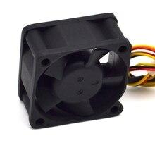 2 unids/lote FD124020EB 4020 12V súper duradero doble rodamiento de bolas ventilador 40*40*20mm