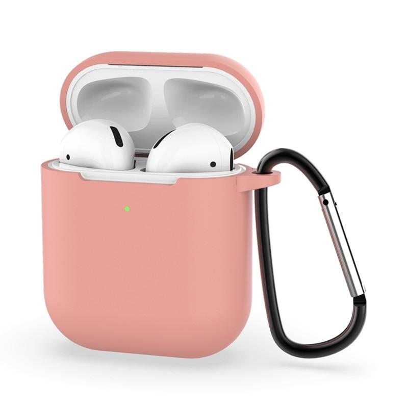 Силиконовый защитный чехол для Apple airpods 2, защитный чехол для Apple AirPods, зарядный чехол для Ai Pods 2